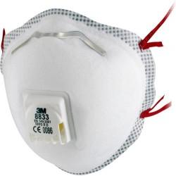 3M Stofmasker P3 8833 VENT...